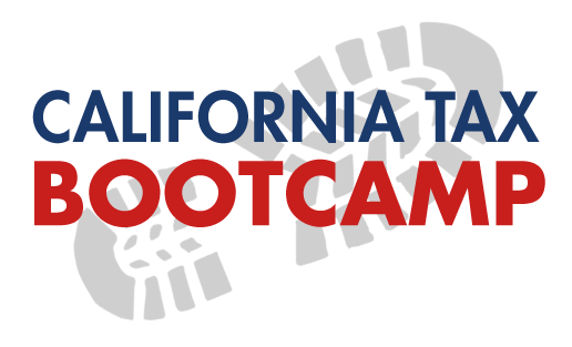 California Tax Bootcamp - Recording Bundle